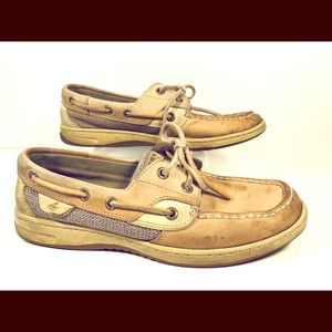 SPERRY Topsider Boat Shoes Women's 7.5